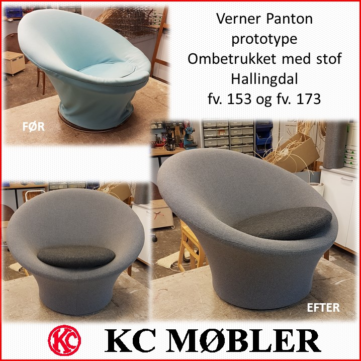 3194fdde KC-Møbler - ombetrækning og ompolstring af alle typer stole, armstol ...
