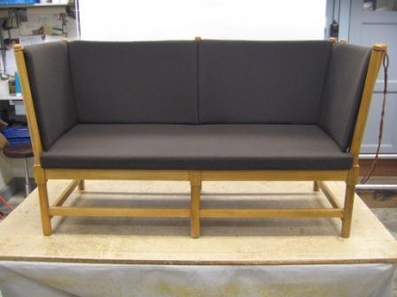sofa samt puder